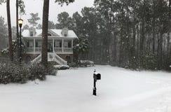 дни снега стоковые изображения rf