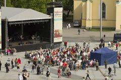 Дни Таллина 2016, Vabaduse Valjak, Эстония Стоковое Фото