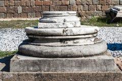 Дно каменного столбца Стоковое Изображение