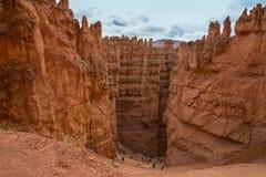 Дно каньона расчалки стоковая фотография