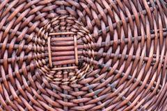 Дно корзины wicker Стоковые Фотографии RF