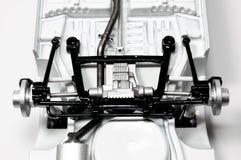 Дно масштабной модели автомобиля ралли Стоковое Изображение RF