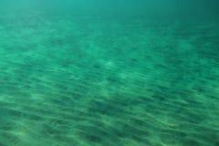 Дно моря, малое ` дюн ` песка стоковые фотографии rf