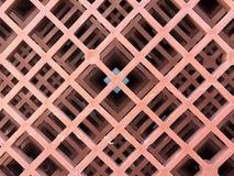 Дно пластичных корзин, коричневый цвет пластичной кучи до картины высокого профессионализма Стоковое фото RF