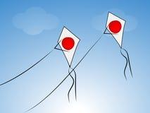 Дня учреждения Японии предпосылка национального иллюстрация вектора