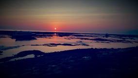 Дн Вверх-Солнце вниз Стоковое Фото
