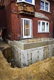 Добавление здания к дому Стоковое Изображение RF