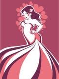Добавочное платье размера Стоковые Фото