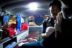 Добровольное EMTs Стоковые Фото