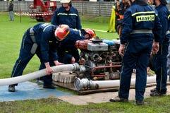 Добровольные пожарные Стоковое Изображение RF