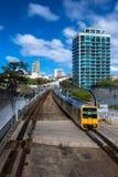 Доброго пути! перемещение поезда Стоковая Фотография RF