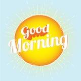Доброе утро Стоковое Изображение