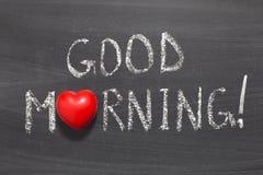 Доброе утро Стоковая Фотография