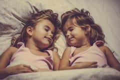 Доброй ночи, спите туго стоковое фото