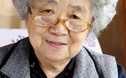 Добросердечная бабушка стоковые изображения rf