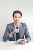 Добросердечный бизнесмен Стоковые Фотографии RF