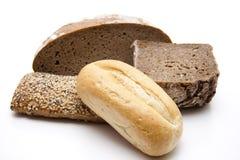 добро крена завтрака хлеба Стоковое Фото