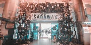 Добро пожаловать к Сараваку стоковые фото