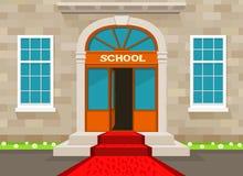 Добро пожаловать к школе Стоковая Фотография