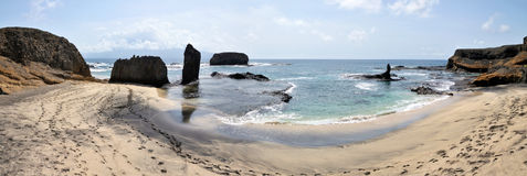 Добро пожаловать берега Djeu Стоковое фото RF