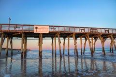 Добро пожаловать к Myrtle Beach Стоковое Изображение RF