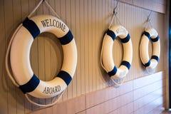 Добро пожаловать на борту кольца жизни Стоковые Фотографии RF
