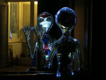 Добро пожаловать UFO стоковое фото