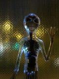 Добро пожаловать UFO стоковые фото