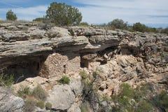 добро montezuma жилища скалы Стоковое Изображение