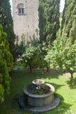 добро viterbo сада старое Стоковая Фотография RF