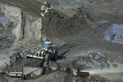Добыча золота в Kolyma Стоковые Изображения