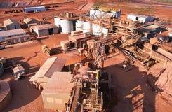 Добыча золота Стоковые Фотографии RF
