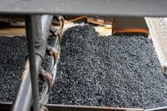Добыча угля и обрабатывать в Южной Африке стоковые изображения rf