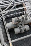 Добыча угля и обрабатывать в Южной Африке стоковая фотография rf