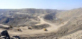 Добыча угля стоковое фото