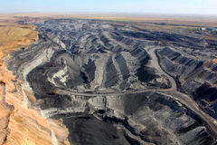 Добыча угля Стоковое фото RF