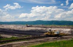 Добыча угля Брайна Стоковое Изображение