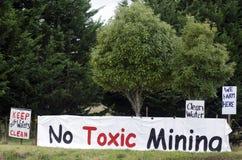 Добыча угля в Новой Зеландии Стоковая Фотография RF