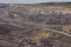 Добыча угля в Сибире стоковая фотография rf