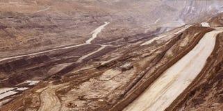 Добыча угля Стоковые Изображения