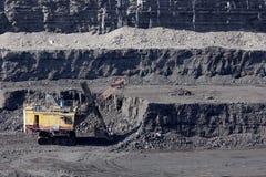 Добыча угля Стоковое Изображение RF
