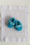 Добычи младенца вязания крючком стоковое изображение rf