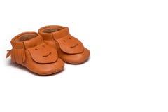 Добычи Childs оранжевые на белой предпосылке Стоковое фото RF