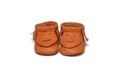 Добычи Childs оранжевые на белой предпосылке Стоковое Изображение RF