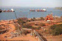 Доверие порта Mormugao Стоковое Изображение