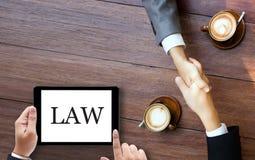 Доверие юриста правосудия законное в юристе команды выигрыша закона случай l стоковые фотографии rf