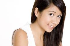 Довольно азиатская девушка Стоковое Изображение RF