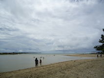 Довольно пляж Стоковые Фото