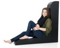 Довольно расслабленное предназначенное для подростков Стоковое Фото