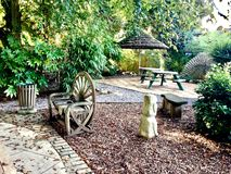 Довольно славный сад Стоковая Фотография RF